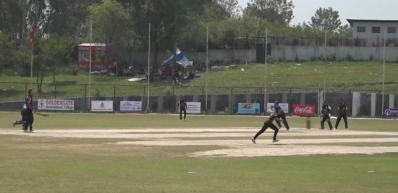 प्रधानमन्त्री कप क्रिकेट : त्रिभुवन क्लब र प्रदेश ३ विजयी
