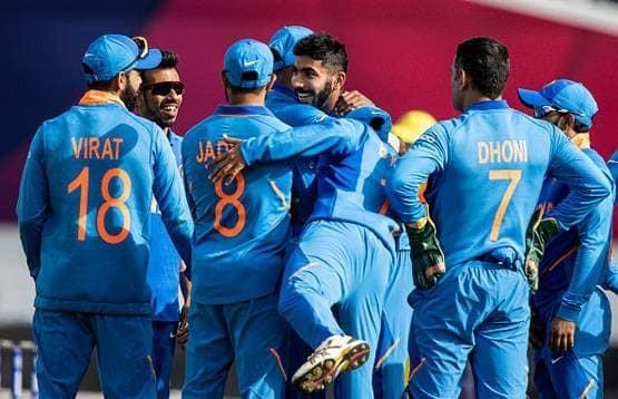 बिश्वकप क्रिकेटमा अस्ट्रेलियाविरुद्ध भारत ३६ रनले विजयी