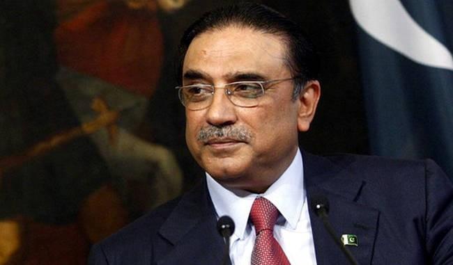 पाकिस्तानका पूर्व  राष्ट्रपति जर्दारी पक्राउ