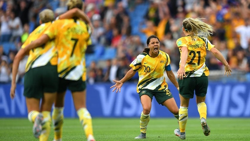 महिला विश्वकप फुटबलमा अस्ट्रेलियासँग ब्राजिल पराजित
