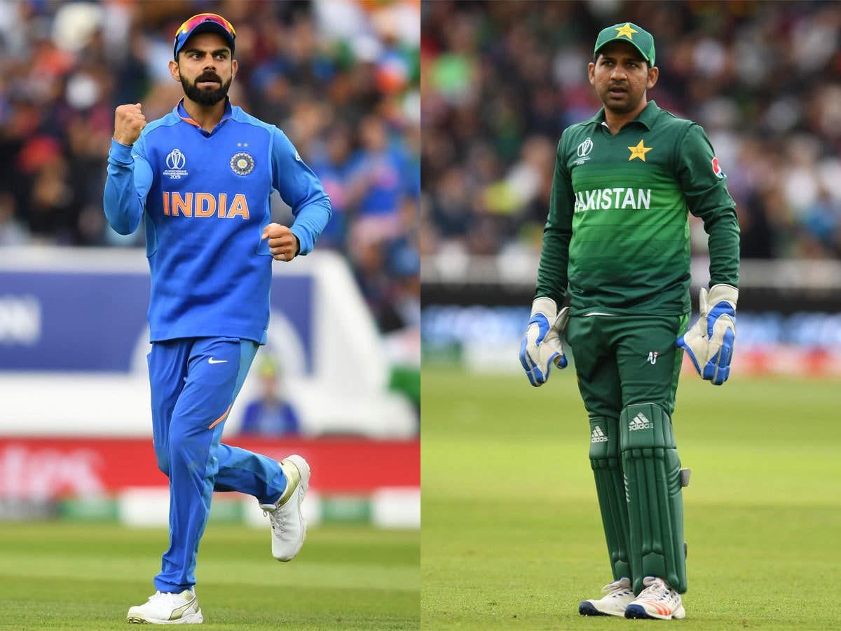 विश्वकप क्रिकेट : आज भारत र पाकिस्तान भिड्दै