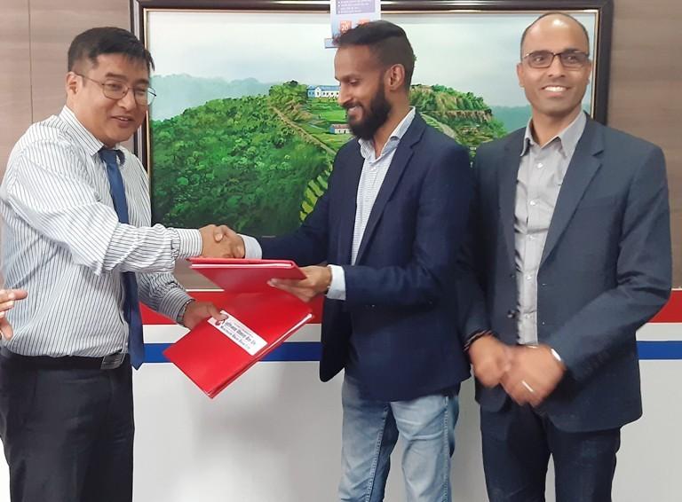 मुक्तिनाथ बैंक र आइएमई पेवीच सम्झौता