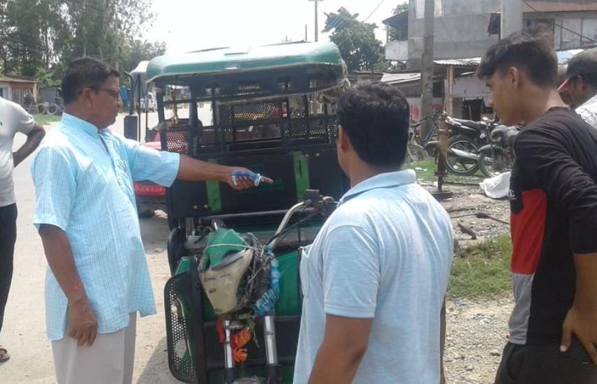 मोरङको धनपालथान गाउँपालिकामा सडक सुशासन अभियान शुरु