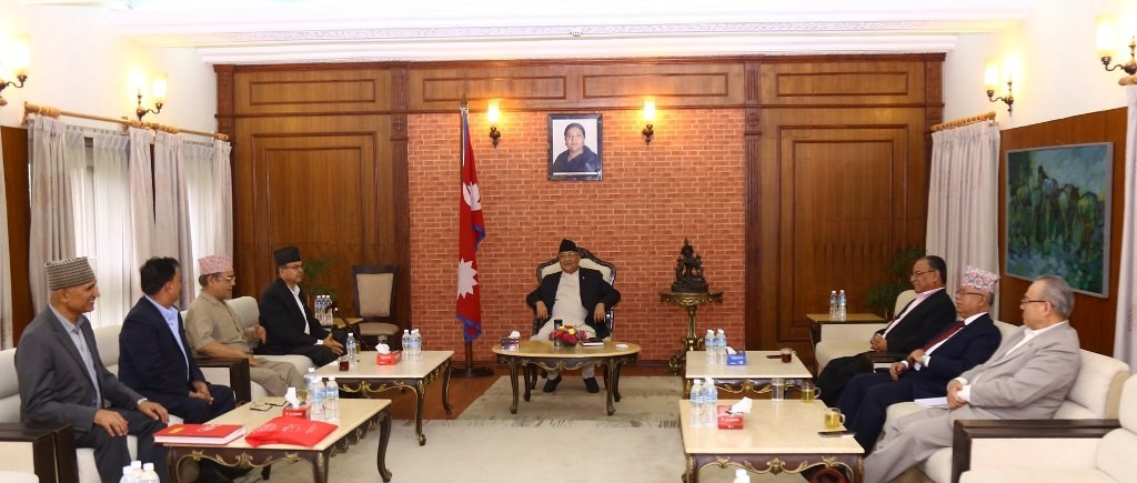 नेकपा सचिवालय बैठकको अध्यक्षता प्रचण्डले गर्ने (भिडियोसहित)