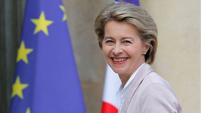 युरोपेली आयोगको अध्यक्षमा पहिलोपटक महिला सिफारिस