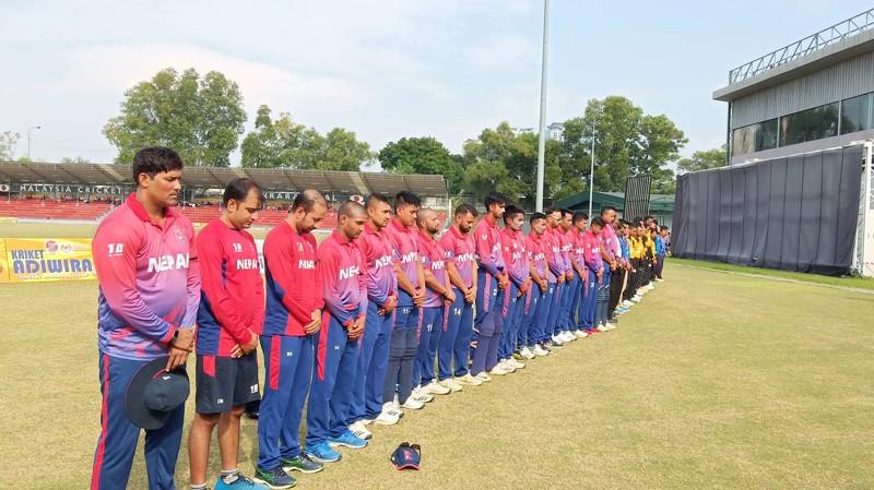 नेपाल र मलेसियाबीचको दोस्रो टी–२०, नेपालले मलेसियालाई दियो १७४ रनको लक्ष्य (LIVE)