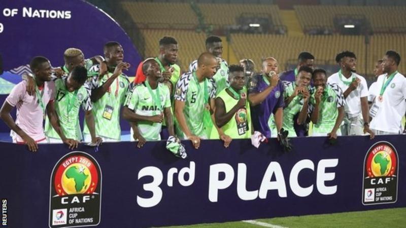 अफ्रिका कप अफ दी नेसन्समा नाइजेरिया तेस्राे