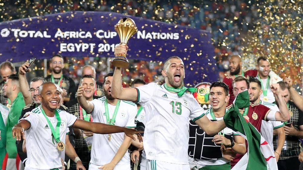 अफ्रिका कप अफ नेसन्सको उपाधि अल्जेरियाकाे पाेल्टामा