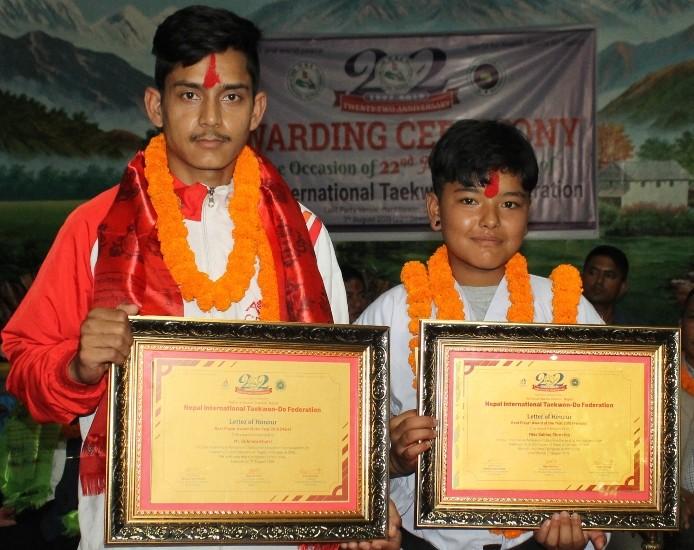 गोविन्द र सविना आईटीएफ वर्ष खेलाडी
