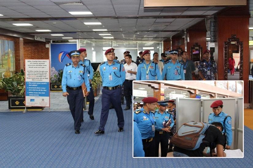महानिरीक्षक खनाल भन्छन् -विमानस्थलमा कार्यरत प्रहरी कर्मचारी स्मार्ट हुनुपर्छ