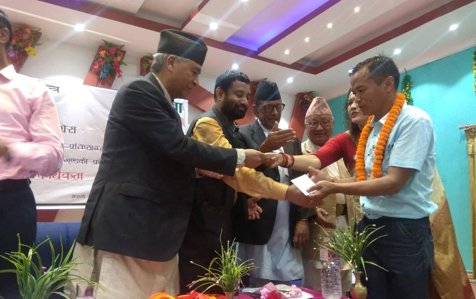 बिप्लवका जनसरकार प्रमुख कांग्रेस प्रबेश