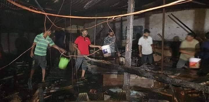 दाङकाे लमहीमा फर्निचर उद्योगमा आगलागी, झण्डै ६५ लाखकाे क्षति