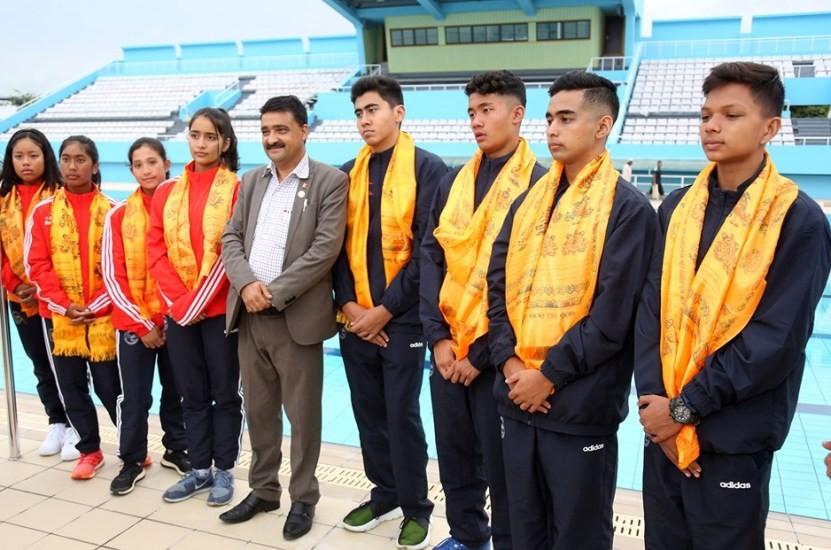 विश्व जुनियर पौडी प्रतियोगिता: नेपालका दुई खेलाडीद्धारा राष्ट्रिय कीर्तिमान कायम
