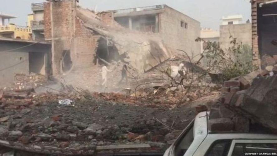 पञ्जाबकाे एक पटाका कारखाना विस्फोट २२ को मृत्यु