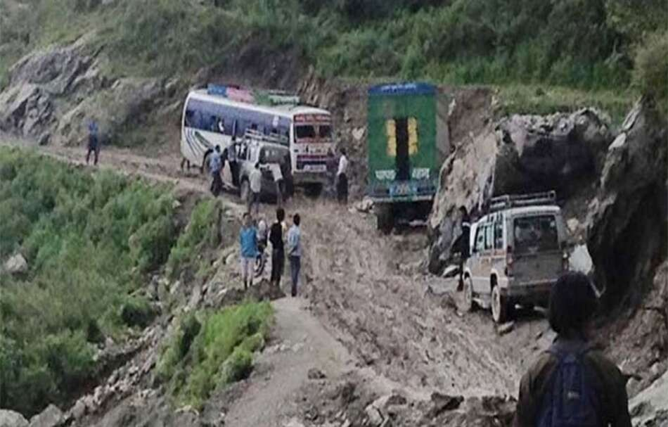 पासाङल्हामु राजमार्ग मर्मत शुरू