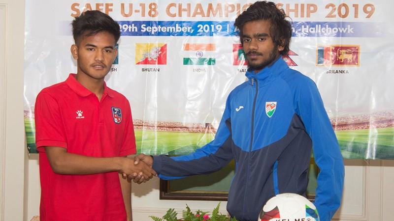 यू-१८ साफ च्याम्पियनसिप आजदेखि, उद्घाटन खेलमा नेपाल र माल्दिभ्स भिड्दै