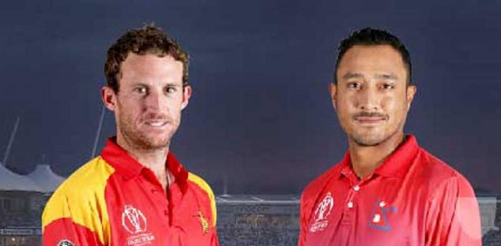 त्रिकोणात्मक क्रिकेट शृंखला : नेपाल र जिम्बावे भिड्दै