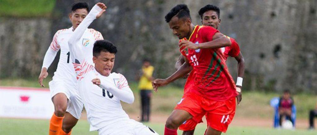 साफ यू–१८ फुटबलको उपाधिका लागि भाेलि बंगलादेश र भारत भिड्ने