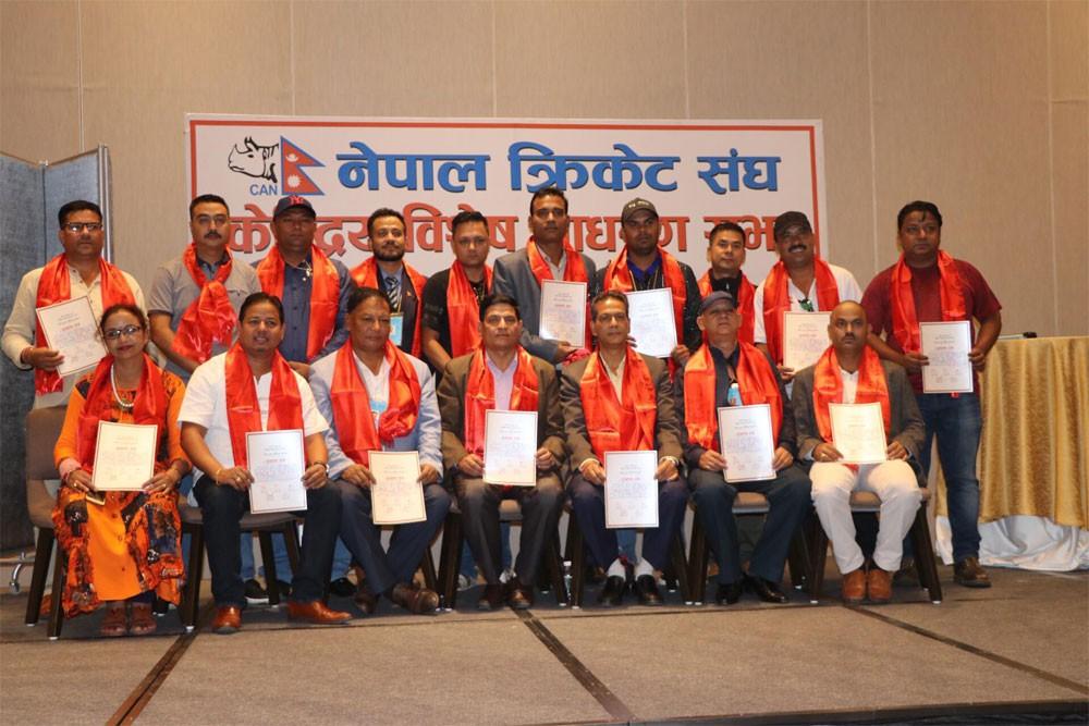 नेपाल क्रिकेट संघ क्यानमा चतुरबहादुर चन्दको प्यानल निर्वाचित