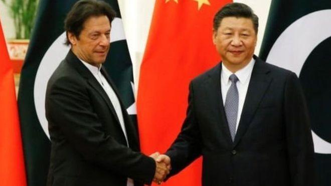 इमरान खान चीन जाँदै, सी जिनपिङ भारत !