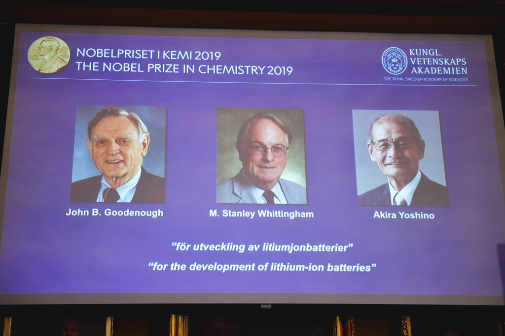 रसायनशास्त्र तर्फको नोबेल पुरस्कार तीन जना वैज्ञानिकलाई