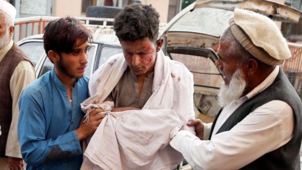 अफगानिस्तानको मस्जिदमा भएको विस्फोटनमा कम्तीमा ६२ जनाको मृत्यु