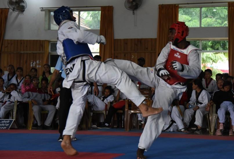 विजय र शैलेशले तेक्वान्दोमा स्वर्ण जिते
