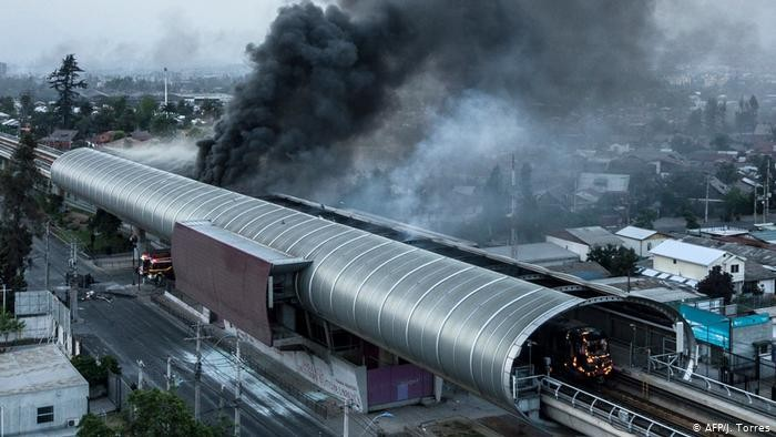 चिलीले गर्याे मेट्रो रेलको मूल्यबृद्धि फिर्ता