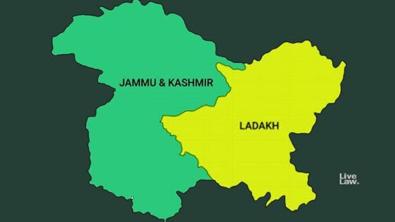 जम्मु–कश्मीर आजदेखि टुक्रियो, नयाँ राज्य लद्दाखमा विधानसभा नरहने