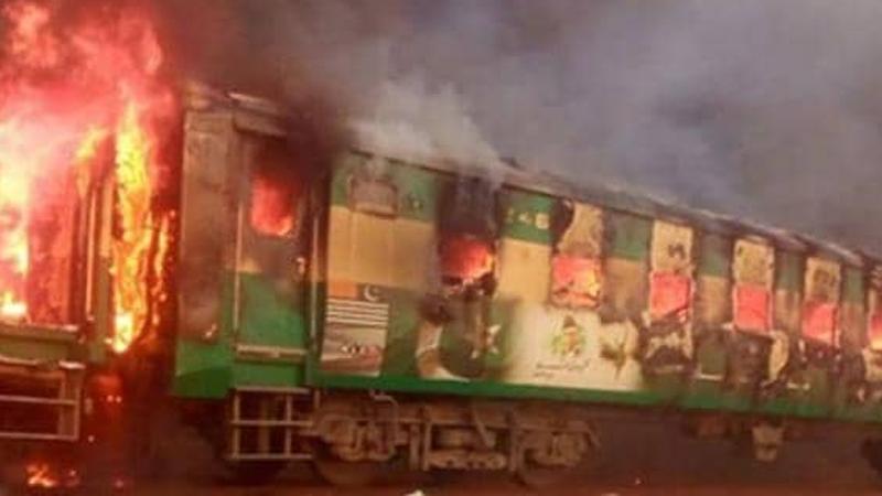 पाकिस्तानको रावलपिंडी एक्सप्रेसमा विस्फोट, ६२ जनाको ज्यान गयो