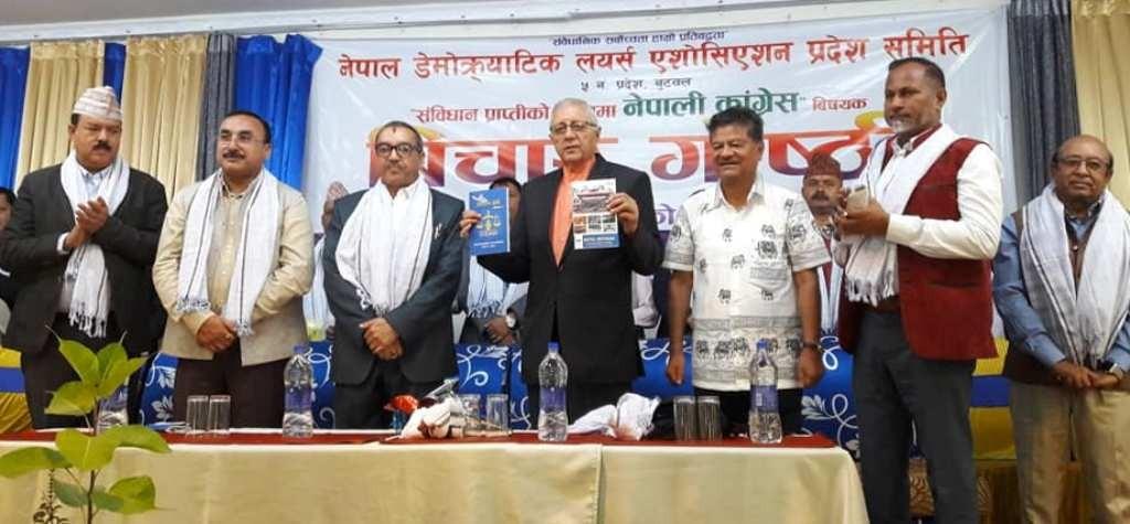 कांग्रेस तदर्थवादबाट चल्न सक्तैनः शेखर कोइराला