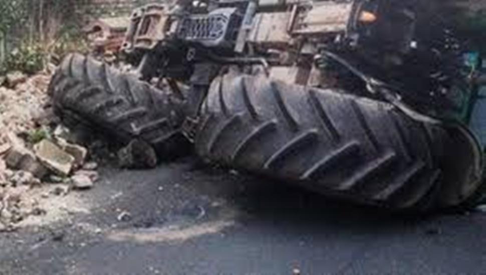 जन्ती बोकेको ट्रयाक्टर  दुर्घटना: दुुईको मृत्यु र पाँच घाइते