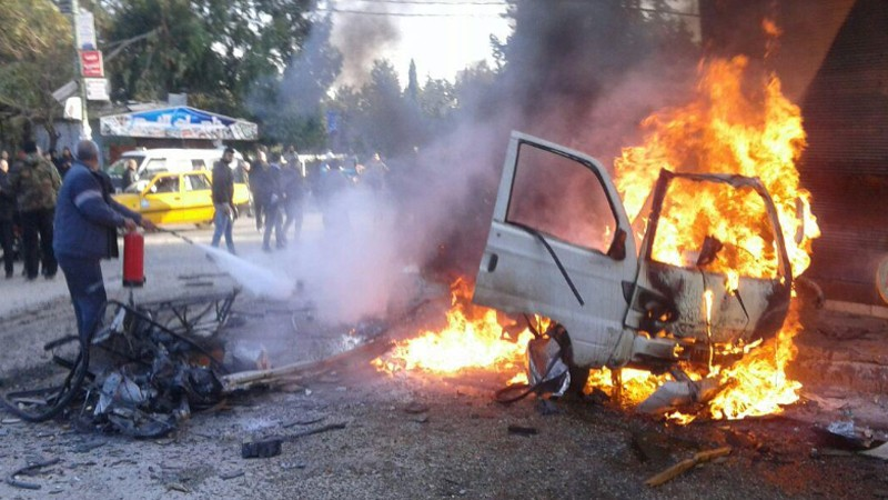 उत्तरी सिरियामा कार बम विस्फाेट १३ काे मृत्यु