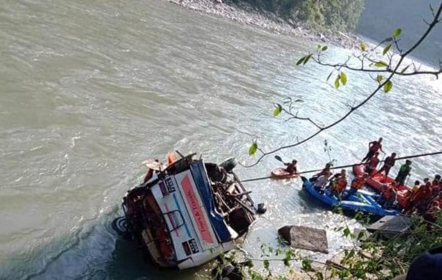 सुकुटे दुर्घटना : मृतक १६ मध्ये पाँचको सनाखत