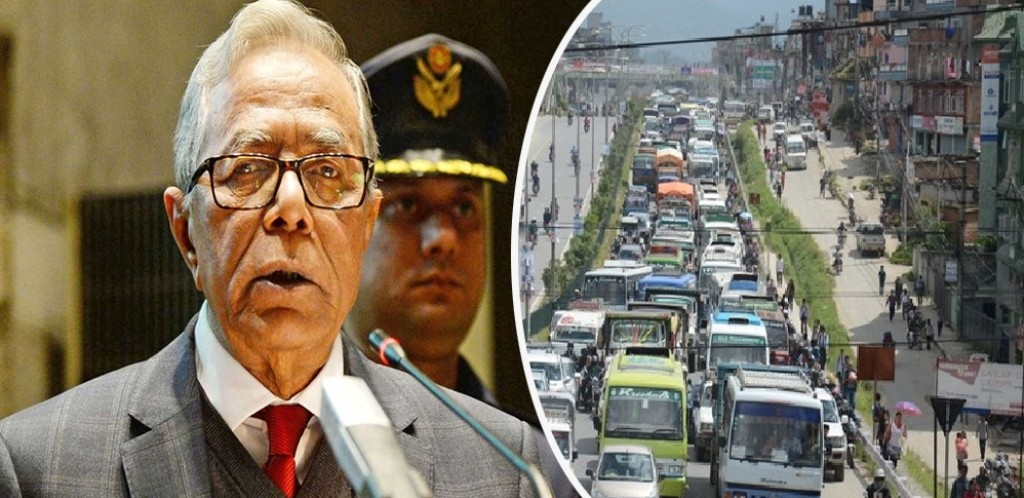 बंगलादेशका राष्ट्रपति भाेलि नेपाल आउँदै:चार दिन ठूला सवारी साधन नचलाउन आग्रह