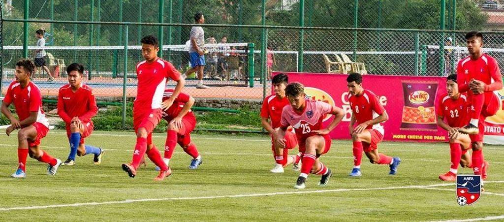 सागका लागि नेपाली फुटबल टोलीको घोषणा,काे-काे परे ?
