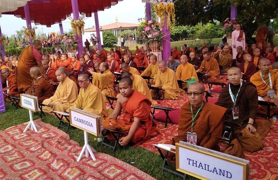 लुम्बिनीमा दोस्रो अन्तर्राष्ट्रिय त्रिपिटक वाचन शुरु