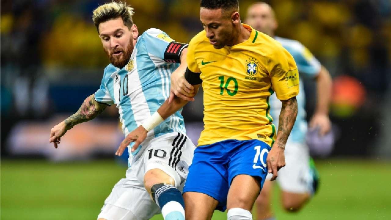 मेसीको गोल, ब्राजिलमाथि अर्जेन्टिनाको जित