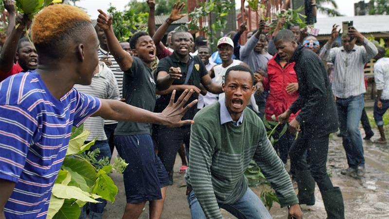 कंगोमा विद्रोहीद्वारा १४ सर्वसाधारणको हत्या