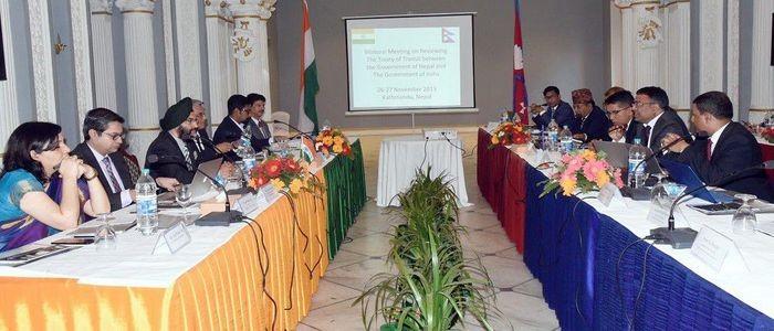 नेपाल–भारत पारवहन सन्धि पुनरावलोकन बैठक काठमाडौंमा सुरु