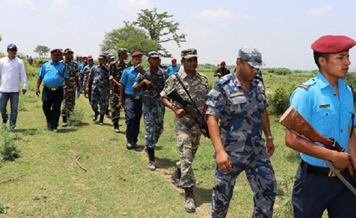 सीमा क्षेत्रमा नेपाल-भारतको संयुक्त सुरक्षा गस्ती