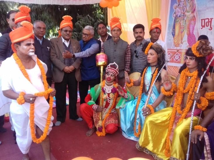 कपिलबस्तुको तौलिहवामा पहिलो पटक राम विवाह उत्सव मनाइयो