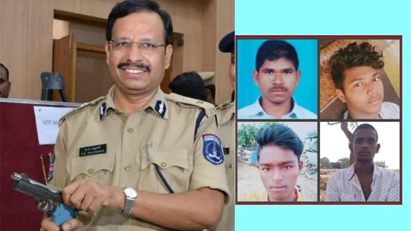हैदराबाद बलात्कार काण्ड : प्रहरी मुठभेडमा ४ अभियुक्त मारिए