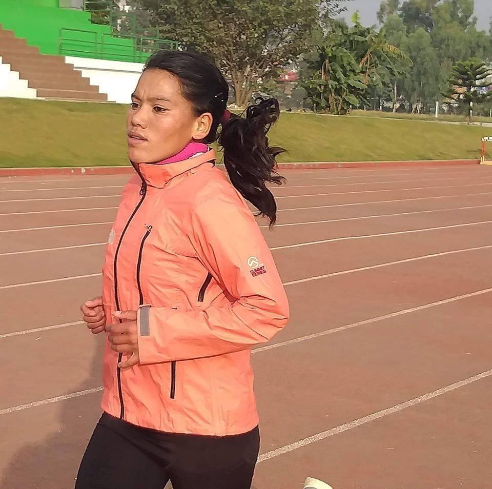 १३औं सागमा महिला म्याराथनतर्फ नेपाललाई रजत