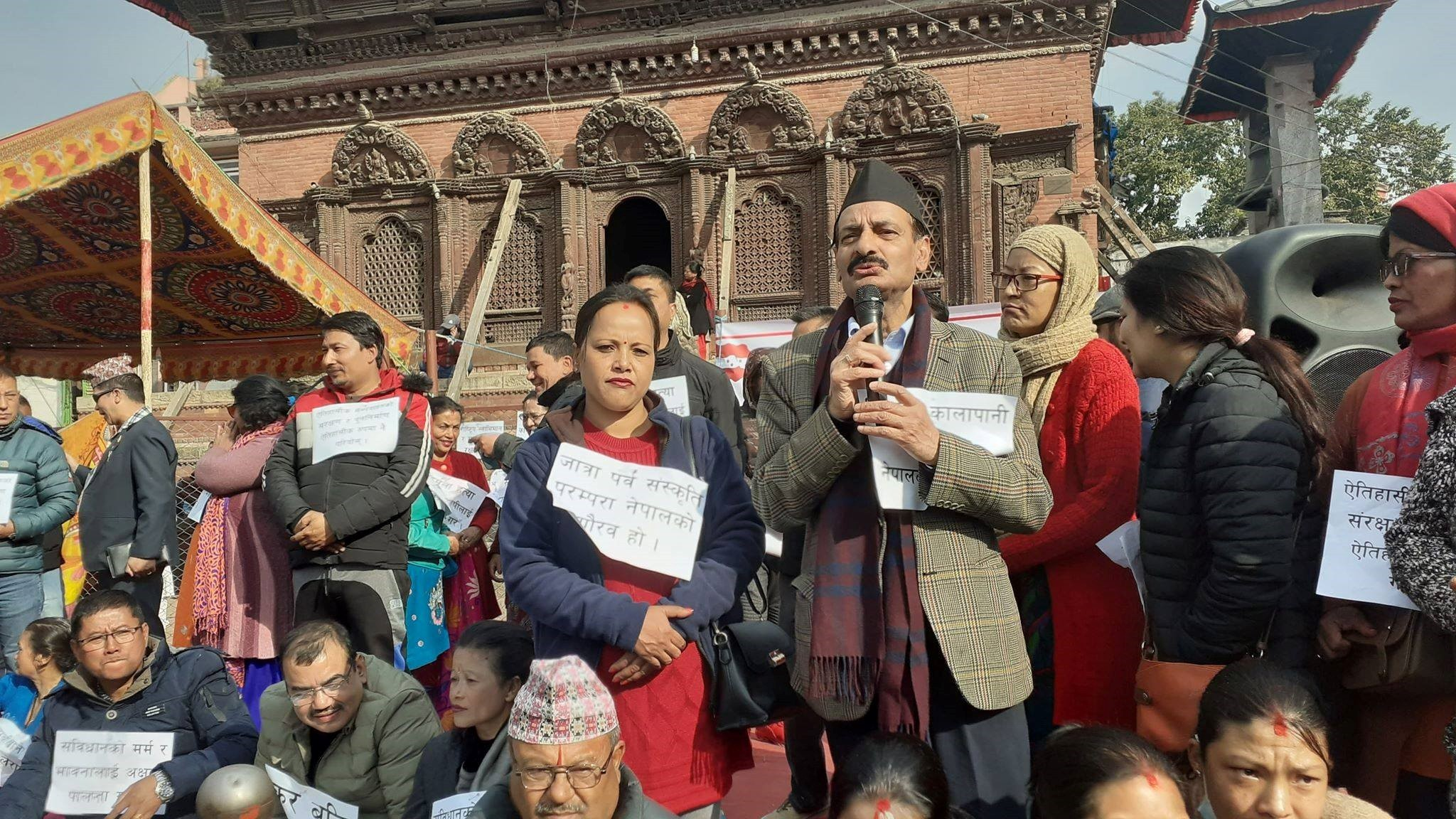 सरकार नसच्चिए दुईतिहाई ढाल्न काठमाडौंका जनता सडकमा आउने जोशीको चेनावनी