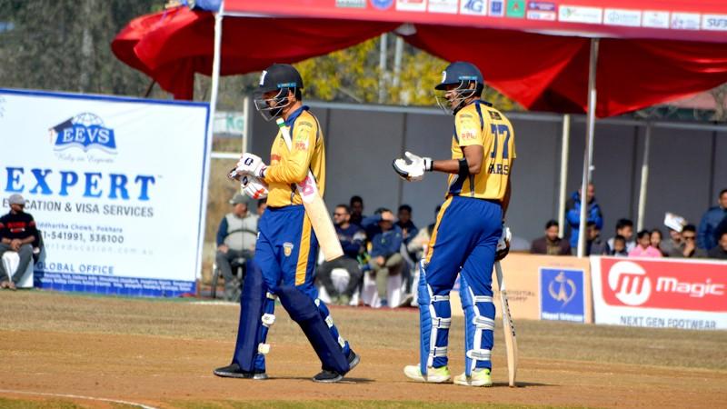 पीपीएल फाइनल : चितवनद्वारा विराटनगरलाई २०३ रनको लक्ष्य