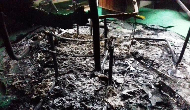 अज्ञात समूहद्धारा कपिलबस्तुमा आगजनी