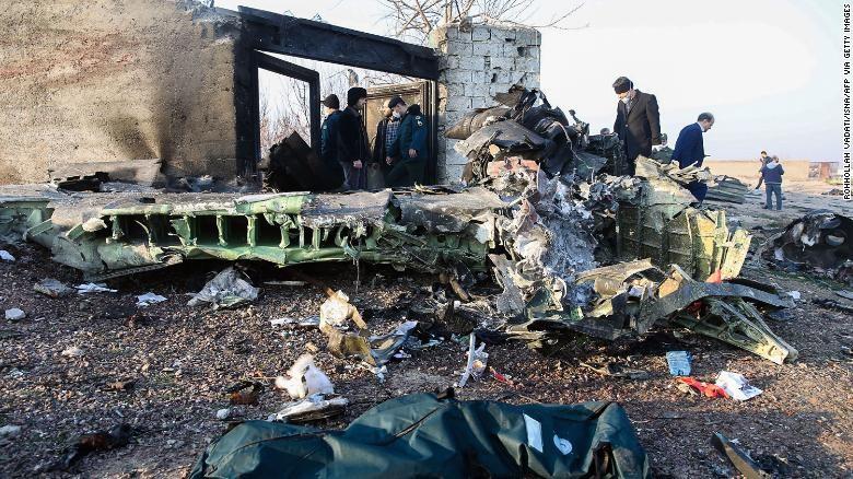 युक्रेनी विमान इरानले नै खसालेको दाबी
