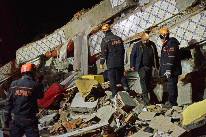 टर्कीमा भूकम्प, १८ को मृत्यु