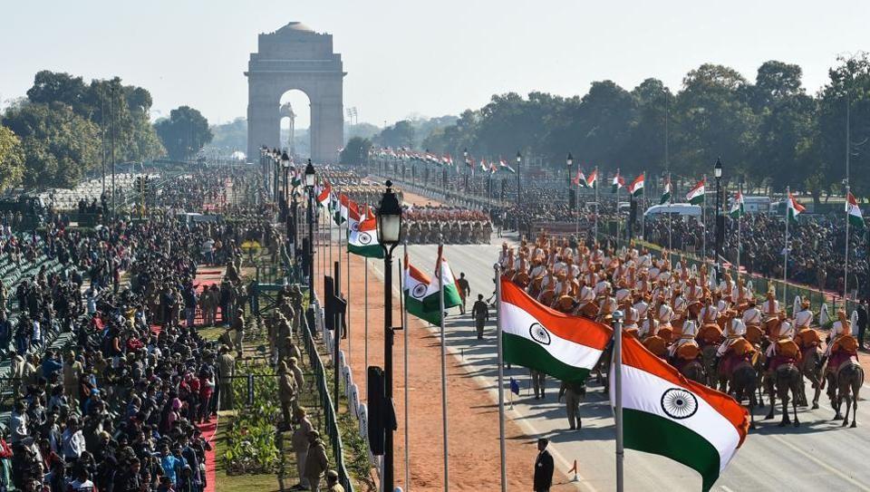 ७१ औं गणतन्त्र दिवस मनाउँदै भारत, राजपथमा विशेष परेड [भिडियो]